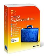 Microsoft Office 2010 Professional - Full Version 32 & 64 bit DVD