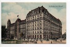 CANADA carte postale ancienne MONTREAL new WINDSOR HOTEL