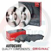 FOR FORD FIESTA ST-2 MK7 12-17 REAR APEC BRAKE DISCS AND APEC BRAKE PADS