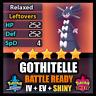 Pokemon Sword and Shield 6IV SHINY Gothitelle BATTLE READY IV Competitive FAST