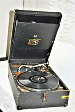 Gramophone His Master Voice portable 1920s