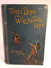 Three Boys in the Wild North Land - Egerton R Young - 1896 - Kelly - Victorian