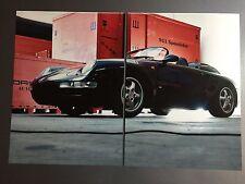 1993 Porsche 911 (Type 993) Speedster Concept Showroom Advertising Sales Poster
