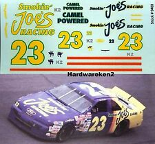 NASCAR DECAL #23 CAMEL - SMOKIN' JOE'S RACING 1994 FORD THUNDERBIRD H. STRICKLIN
