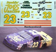 NASCAR DECAL #23 CAMEL - SMOKIN' JOE'S RACING 1994 FORD THUNDERBIRD H. STRICKLIN
