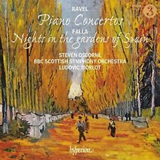 Ravel: Piano Concertos/Falla: Nights In The Gardens Of Spain [New CD]
