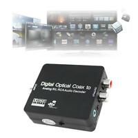 DTS/Dolby Digital Optical Coax Toslink to Analog RCA Audio Decoder Converter GA