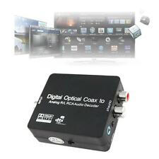 DTS/Dolby Digital Optical Coax Toslink to Analog RCA Audio Decoder Converter @M