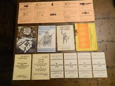 Vintage Army U.S. Field Manual lot  mainly 1970's great lot