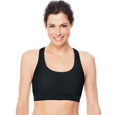 0b728b86404d3 Hanes Womens Activewear O9178 Sport Compression Racerback Sports Large Black