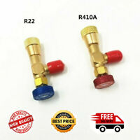 """2pcs Refrigeration Charging Adapter R22/R410A For 1/4 """"Safety Valve Service Kit"""