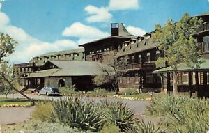 """Fred Harvey """"El Tovar Hotel"""" Grand Canyon Nat'l Park - Vintage POSTCARD"""