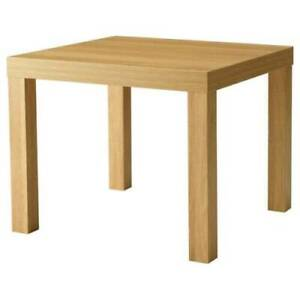 IKEA LACK Oak Effect Side Coffee Table  for Home OR Office furniture- 55 x 55 CM