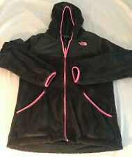 The North Face Girls Hoodie | XL 18 |  Winter Zip Gray/Pink