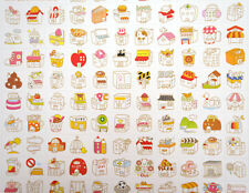 2 pages Korean storefront stickers! Kawaii home, cute planner sticker, shops