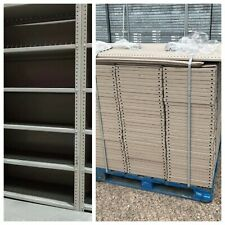 More details for job lot 10 bays dexion bolted industrial angle shelving racking 2400x1000x400mm