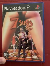 PlayStation 2 Game - 7 Sins (Near mint) PS2 UK PAL - Complete - Rare