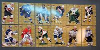 2007-08 NHL Fleer Ultra Gold Medallion Lot Of 13 No Doubles