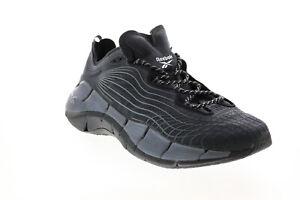 Reebok Zig Kinetica II FX9340 Mens Black Synthetic Athletic Running Shoes