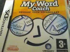 Nintendo DS-MY WORD COACH-développer votre vocabulaire