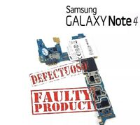 Genuine Samsung galaxy note 4 sm-n910f Motherboard/Logic boards FAULTY