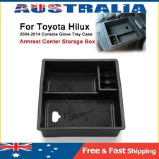 For Toyota Hilux 2004-2014 Tray Case Armrest Center Console Storage Glove Box **