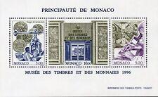 STAMP / TIMBRE DE MONACO BLOC N° 73 ** MUSEE DES TIMBRES ET MONNAIES