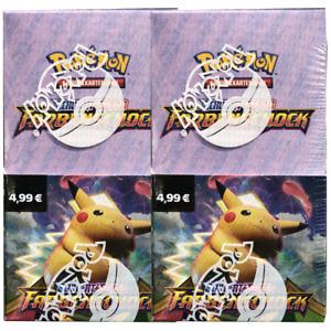 Pokemon Farbenschock Display 2 x 18 Booster Schwert und Schild 4.0 Deutsch TCG