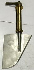 Marine Rudder With Shaft , Bronze , Shaft OD: 80mm. Overall L: 1194mm.