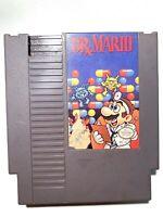 ***Dr. Mario ORIGINAL Nintendo NES Game Tested + Working & Authentic!