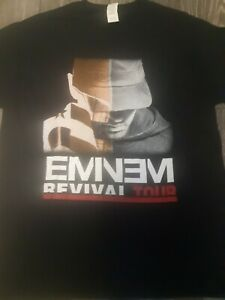 Eminem revival tour shirt xl