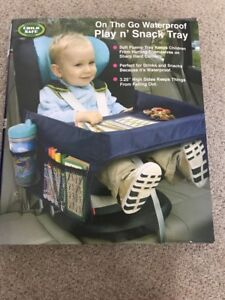 Highway Home Child Safe On The Go Waterproof Play n ' Snack Tray NIB