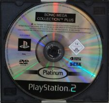 SONIC MEGA COLLECTION PLUS - PLAYSTATION 2 - PAL ESPAÑA - SOLO DVD