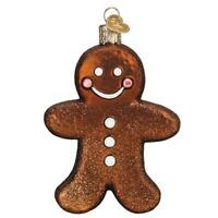 Gingerman Cookie Glass Ornament Old World Christmas New