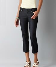 NWT Ann Taylor Loft Petites 2P, Modern Cropped Jeans in Rinse Wash #2v