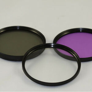 39mm Filter KIT For Fuji 27mm Leica 28mm 35mm 50mm UV Circular Polarizer FLD