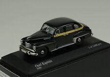 Opel Kapitän 1951 Taxi negro Minichamps 1:43