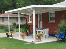 12' x 20' Free Standing  Flat Pan Aluminum (.023), Patio Cover Kit