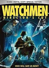 Watchmen Dvd 2-Disc Set Director's Cut - Zack Snyder, Alan Moore, Malin Akerman
