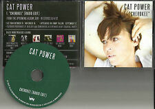 CAT POWER Cherokee w/ RARE RADIO EDIT 2012 USA PROMO DJ CD Single MINT