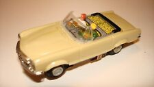 FALLER MERCEDES 280 SE CONVERTIBLE IN CREAM