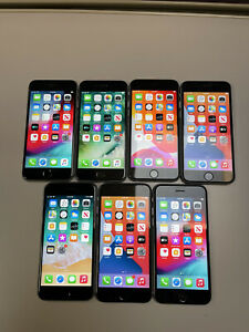 Lot of 7 Apple iPhone's 64gb 32gb A1633 A1549 A1586 Unlocked 6 And 6s