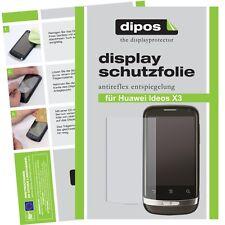 2x Huawei Ideos X3  Schutzfolie matt Displayschutzfolie Antireflex Displayfolie