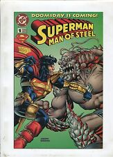 Superman Man Of Steel #1 ~ DoomsDay is Coming ~ (Grade 9.2) WH