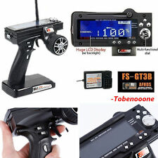 Flysky FS-GT3B 2.4G 3CH Transmitter + Receiver Radio Control for RC Car Boat VIP