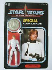 CUSTOM Vintage Luke Skywalker Stormtrooper POTF W/Coin MOC Carded Star Wars