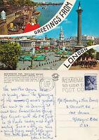 1978 MULTI VIEWS OF LONDON COLOUR POSTCARD