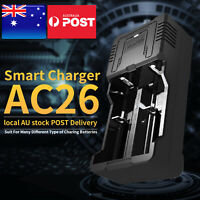 SUPFIRE Smart 2 Slots 26650 18650 Lithium Li-ion Batteries charger & USB cable