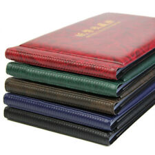 Paper Money Pocket Wallet Banknote Collection Album 20 Notes Pages At Random