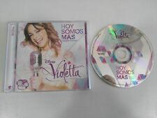 VIOLETTA HOY SOMOS MAS CD EDICION DELUXE DISNEY CHANNEL DESCATALOGADO!